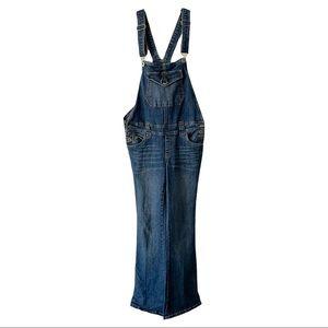 Vintage Bongo Y2K Flare Leg Denim Overalls 00